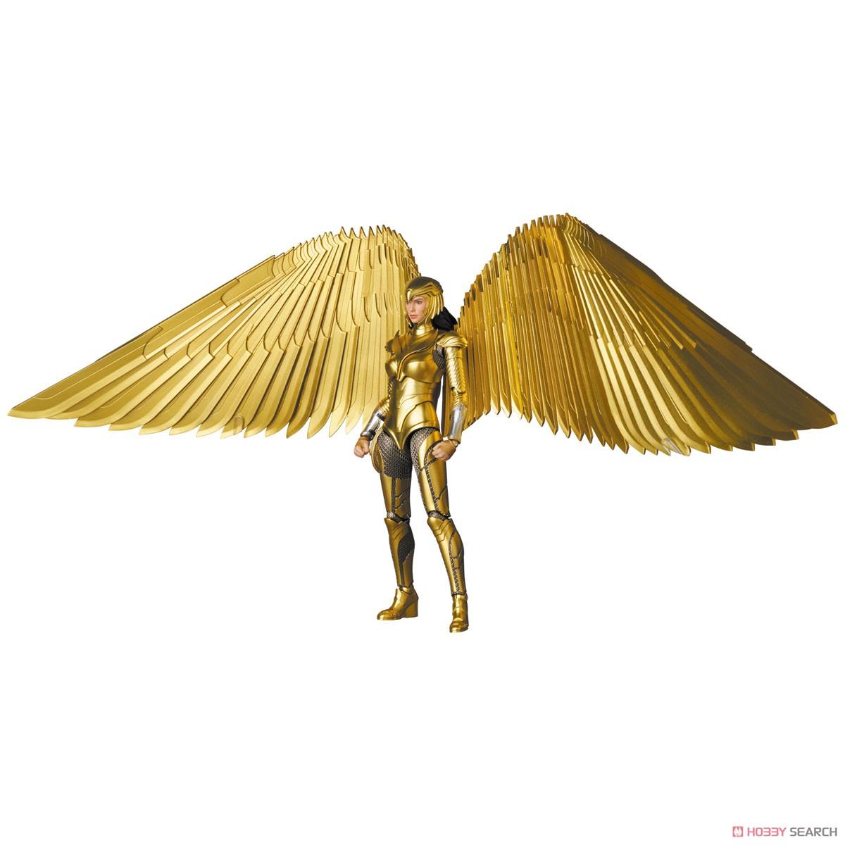 マフェックス No.148 MAFEX『ワンダーウーマン 1984 ゴールドアーマー版/WONDER WOMAN GOLDEN ARMOR Ver.』可動フィギュア-011