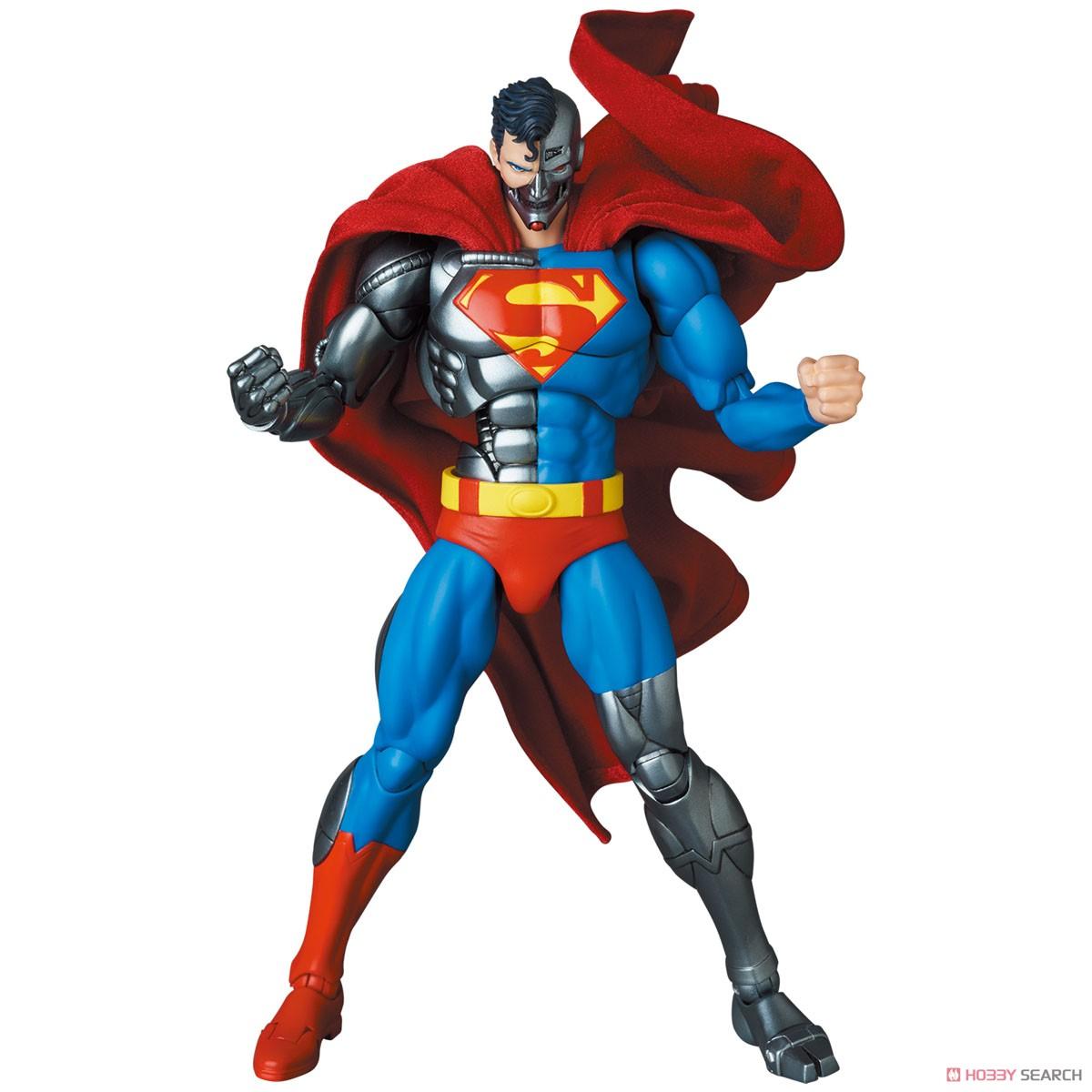 マフェックス No.164 MAFEX『サイボーグ スーパーマン/CYBORG SUPERMAN(RETURN OF SUPERMAN)』リターン・オブ・スーパーマン 可動フィギュア-001