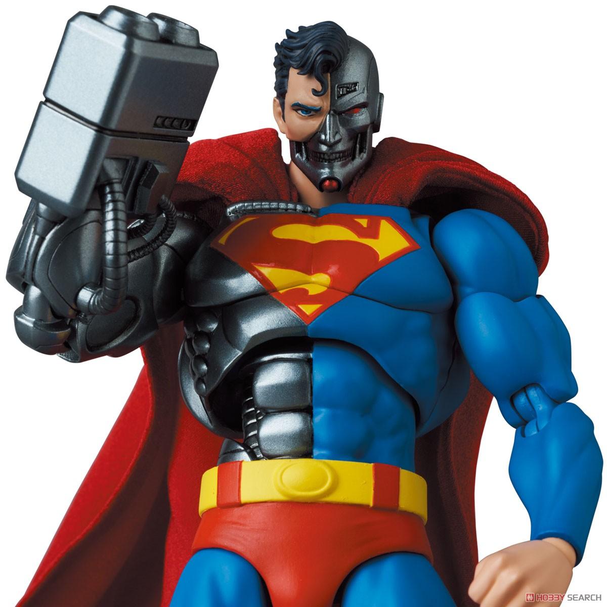 マフェックス No.164 MAFEX『サイボーグ スーパーマン/CYBORG SUPERMAN(RETURN OF SUPERMAN)』リターン・オブ・スーパーマン 可動フィギュア-002