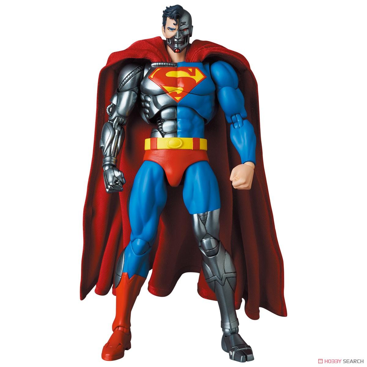 マフェックス No.164 MAFEX『サイボーグ スーパーマン/CYBORG SUPERMAN(RETURN OF SUPERMAN)』リターン・オブ・スーパーマン 可動フィギュア-003