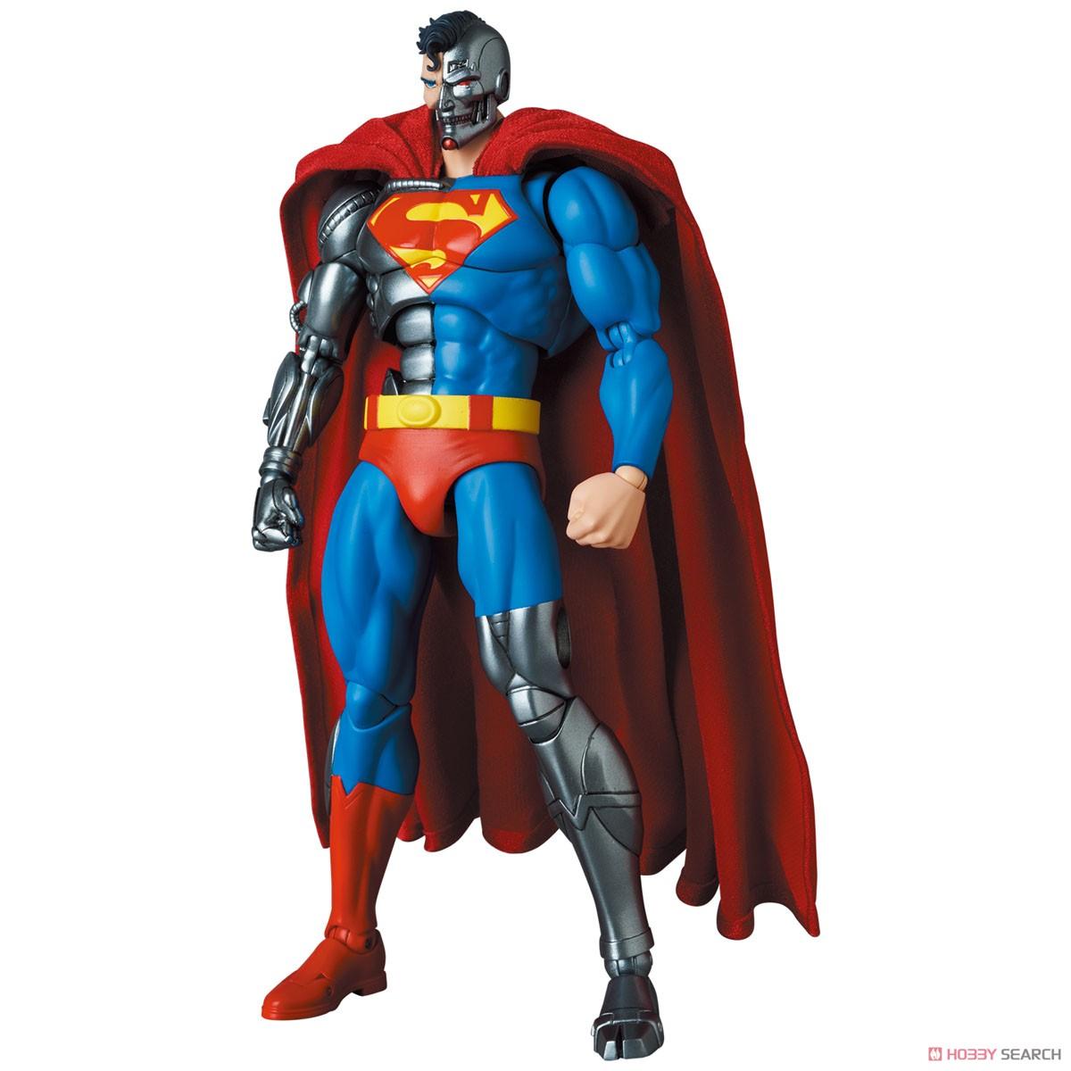 マフェックス No.164 MAFEX『サイボーグ スーパーマン/CYBORG SUPERMAN(RETURN OF SUPERMAN)』リターン・オブ・スーパーマン 可動フィギュア-004