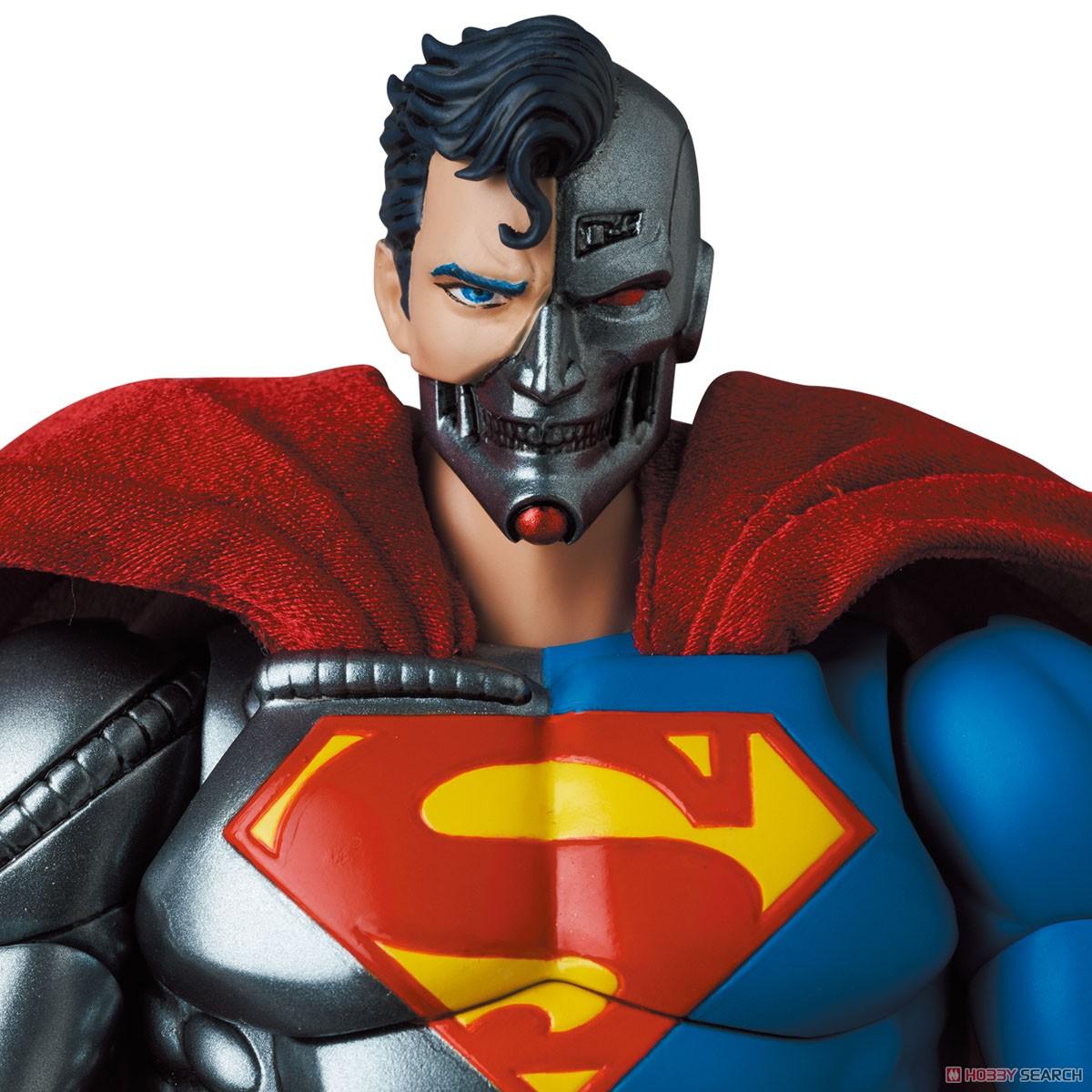 マフェックス No.164 MAFEX『サイボーグ スーパーマン/CYBORG SUPERMAN(RETURN OF SUPERMAN)』リターン・オブ・スーパーマン 可動フィギュア-006