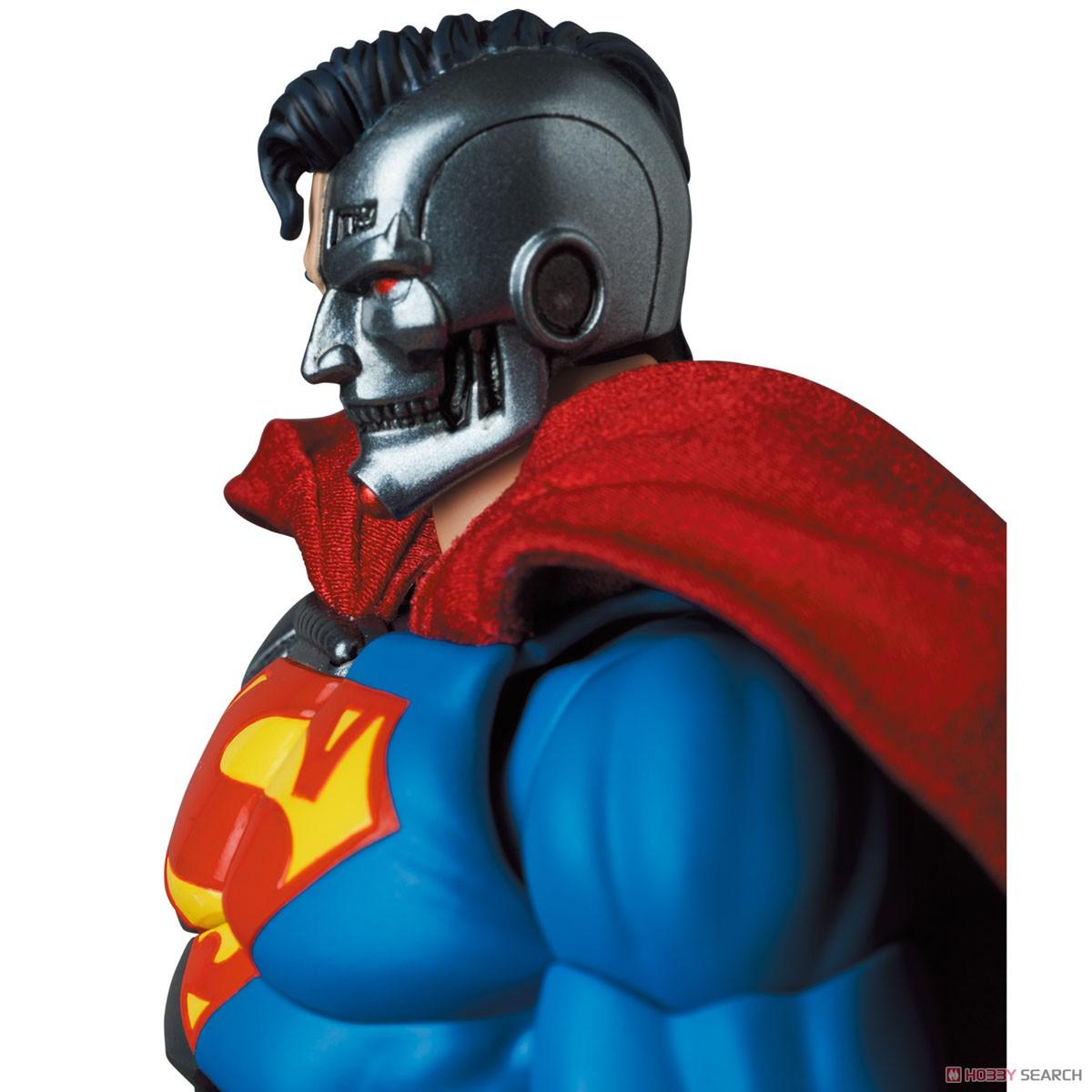 マフェックス No.164 MAFEX『サイボーグ スーパーマン/CYBORG SUPERMAN(RETURN OF SUPERMAN)』リターン・オブ・スーパーマン 可動フィギュア-007