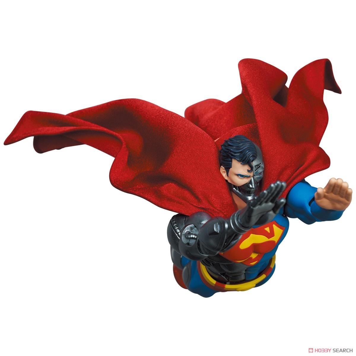マフェックス No.164 MAFEX『サイボーグ スーパーマン/CYBORG SUPERMAN(RETURN OF SUPERMAN)』リターン・オブ・スーパーマン 可動フィギュア-009