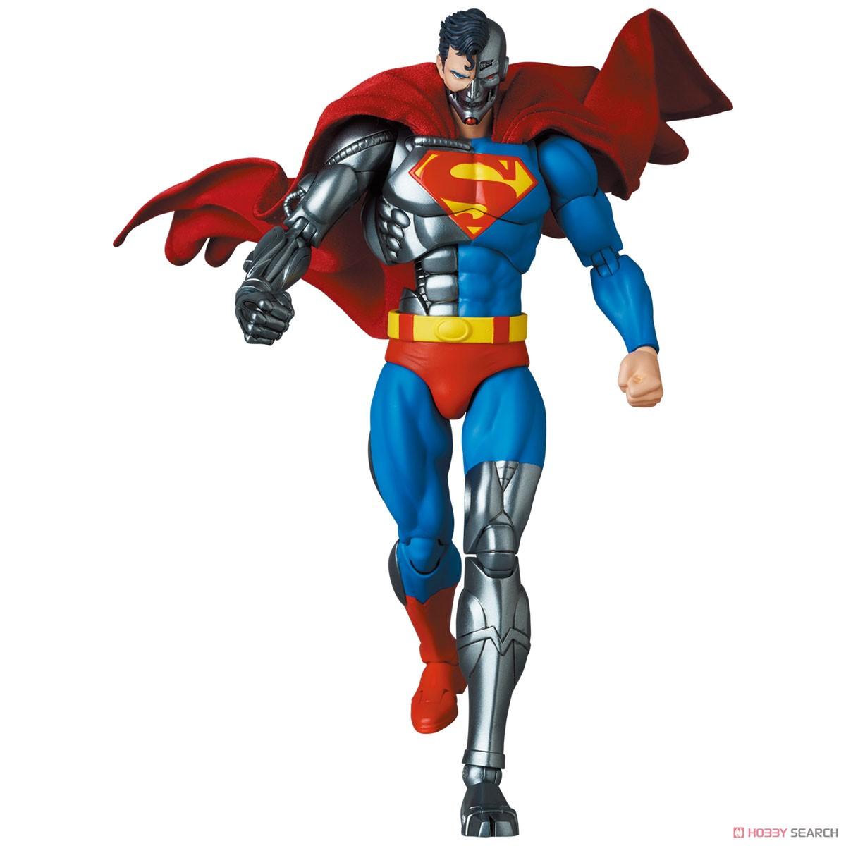 マフェックス No.164 MAFEX『サイボーグ スーパーマン/CYBORG SUPERMAN(RETURN OF SUPERMAN)』リターン・オブ・スーパーマン 可動フィギュア-010