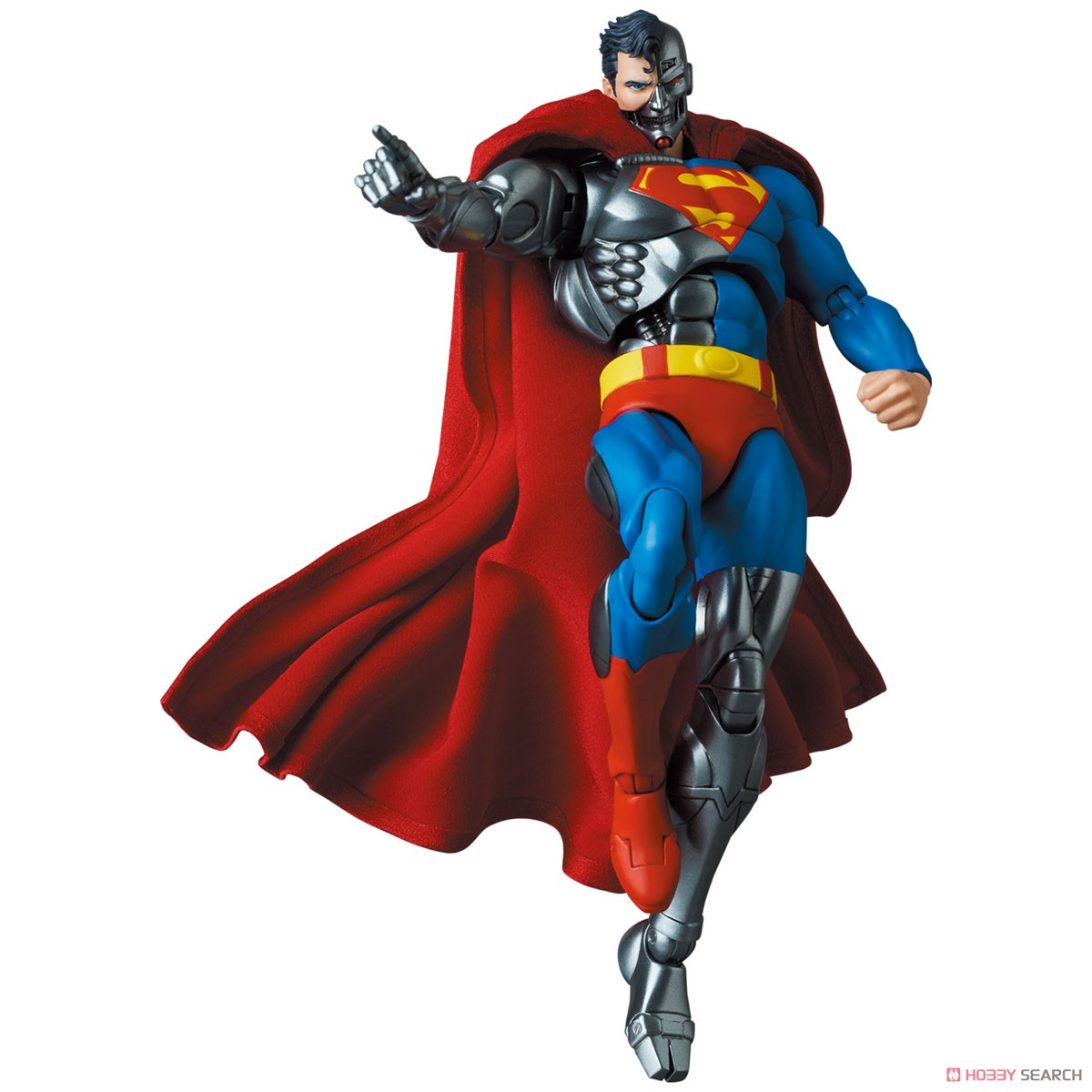 マフェックス No.164 MAFEX『サイボーグ スーパーマン/CYBORG SUPERMAN(RETURN OF SUPERMAN)』リターン・オブ・スーパーマン 可動フィギュア-011
