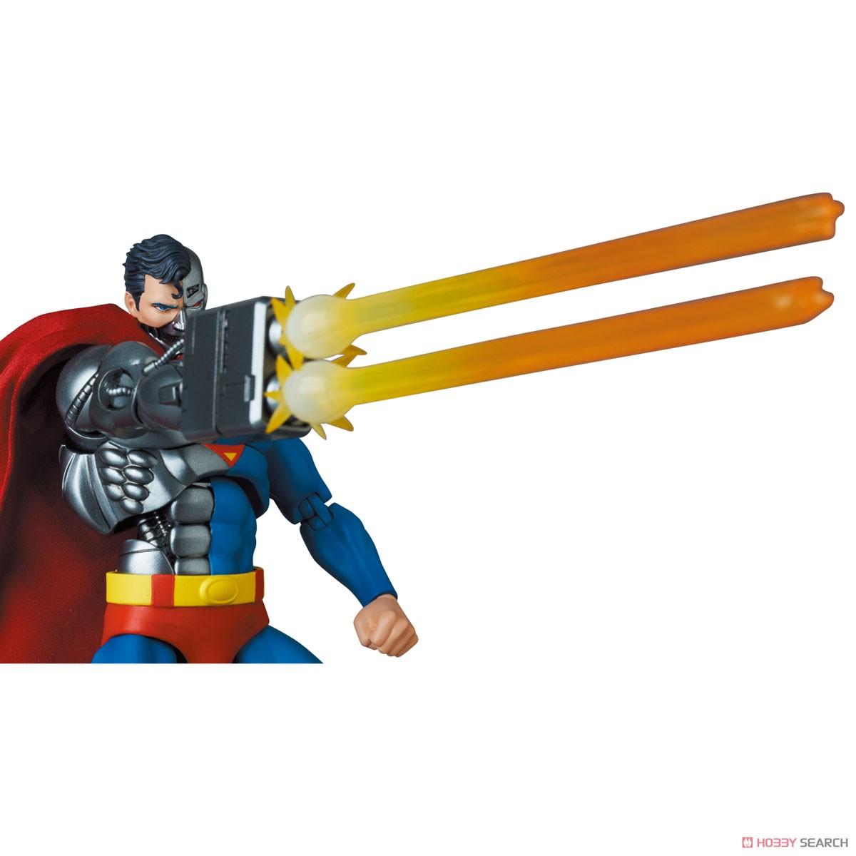 マフェックス No.164 MAFEX『サイボーグ スーパーマン/CYBORG SUPERMAN(RETURN OF SUPERMAN)』リターン・オブ・スーパーマン 可動フィギュア-012