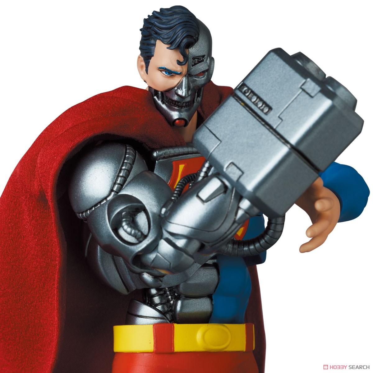 マフェックス No.164 MAFEX『サイボーグ スーパーマン/CYBORG SUPERMAN(RETURN OF SUPERMAN)』リターン・オブ・スーパーマン 可動フィギュア-013