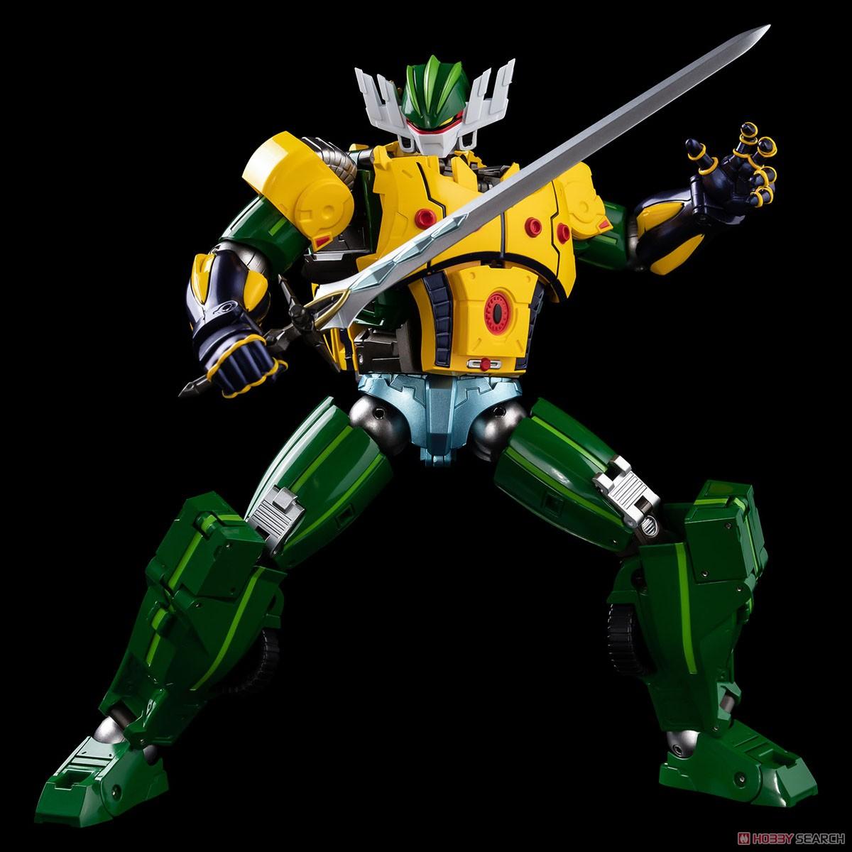 METAMOR-FORCE『ジーグフリート』鋼鉄ジーグ a.k.a. JEEGFRIED 可変可動フィギュア-009