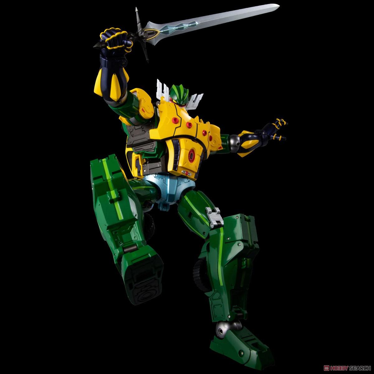 METAMOR-FORCE『ジーグフリート』鋼鉄ジーグ a.k.a. JEEGFRIED 可変可動フィギュア-011