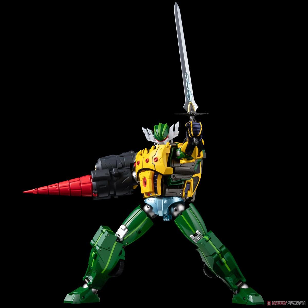 METAMOR-FORCE『ジーグフリート』鋼鉄ジーグ a.k.a. JEEGFRIED 可変可動フィギュア-012