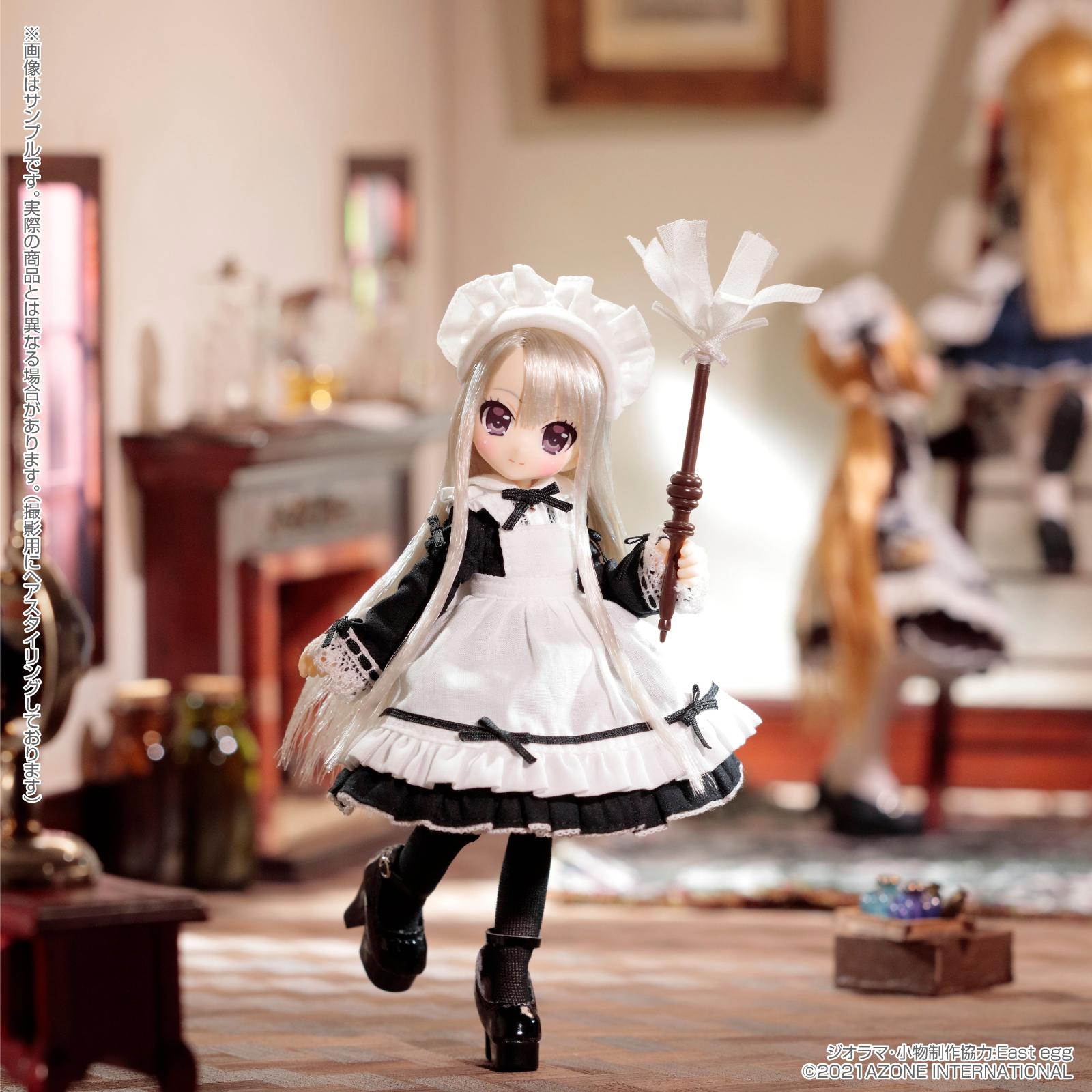 Lil'Fairy ~ちいさなお手伝いさん~『ヴェル 7th anniv.(ノーマル口ver.)』1/12 完成品ドール-001