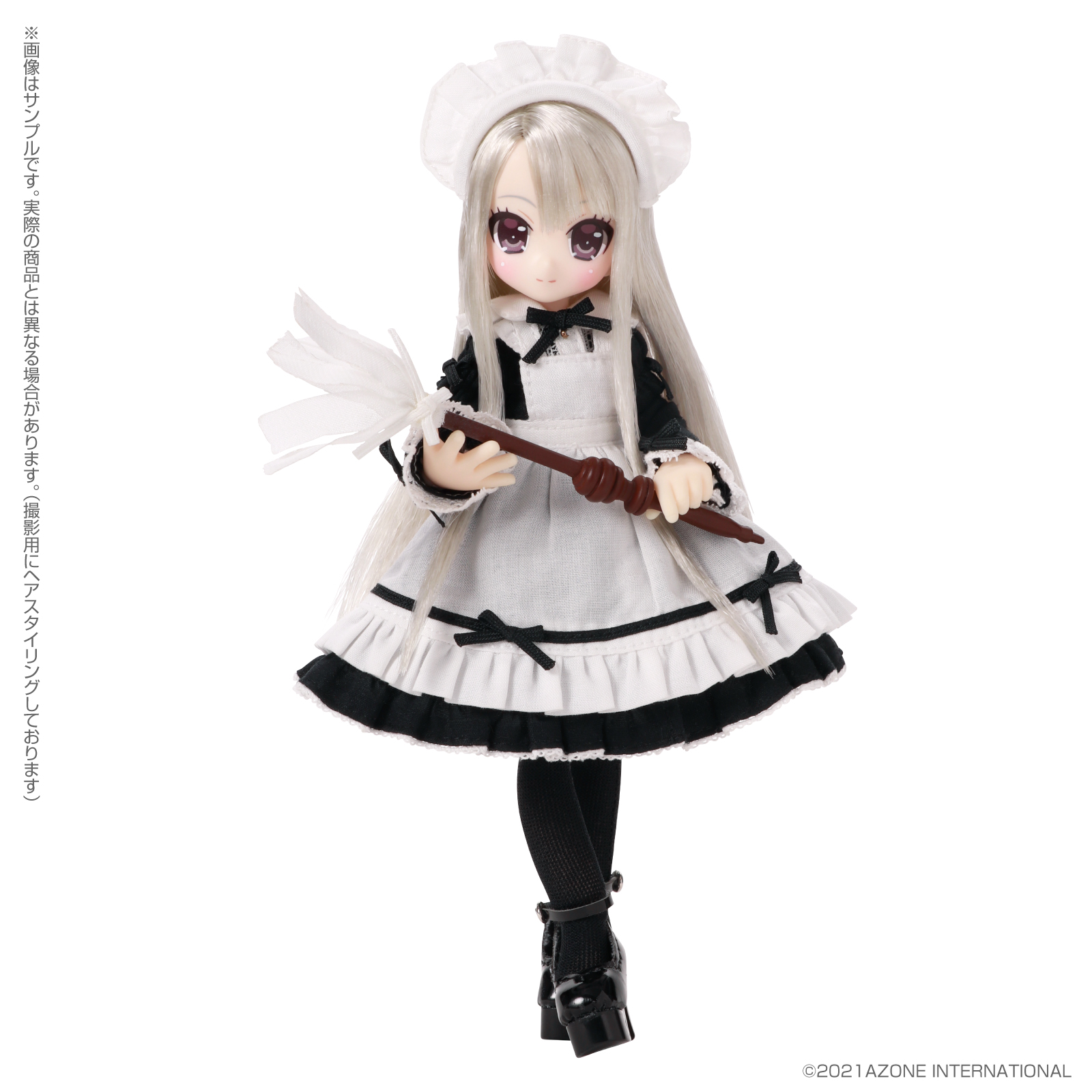 Lil'Fairy ~ちいさなお手伝いさん~『ヴェル 7th anniv.(ノーマル口ver.)』1/12 完成品ドール-006