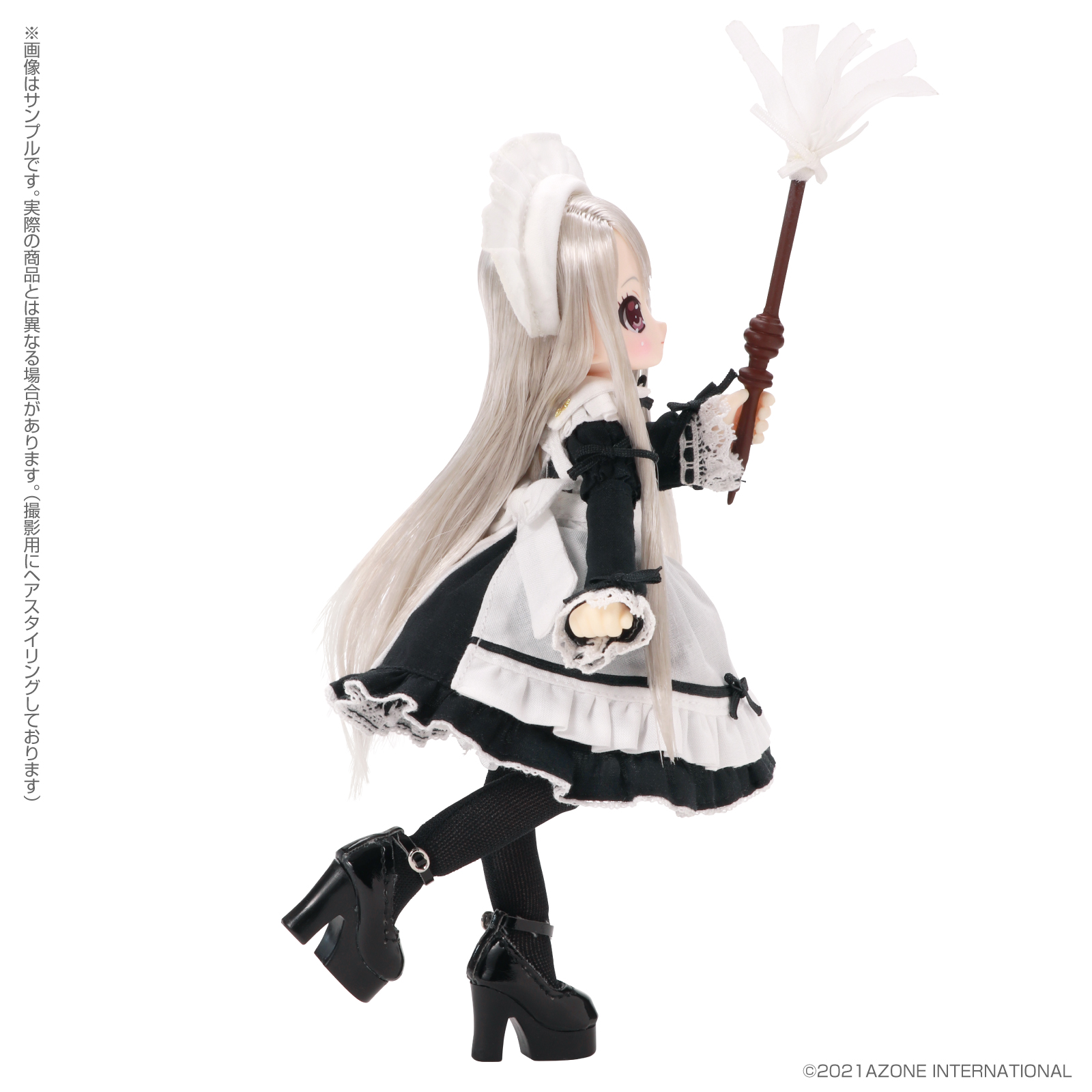 Lil'Fairy ~ちいさなお手伝いさん~『ヴェル 7th anniv.(ノーマル口ver.)』1/12 完成品ドール-008