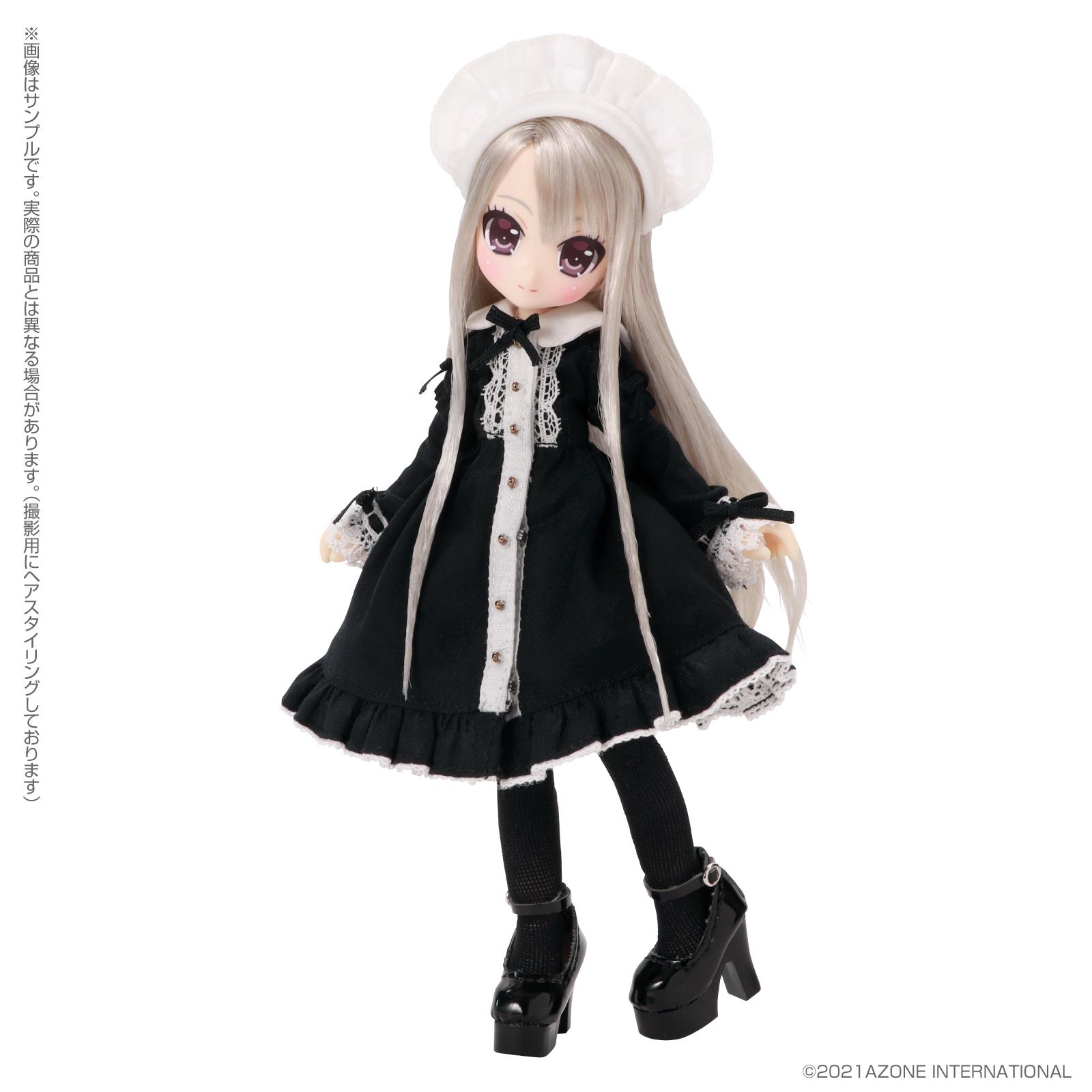 Lil'Fairy ~ちいさなお手伝いさん~『ヴェル 7th anniv.(ノーマル口ver.)』1/12 完成品ドール-009