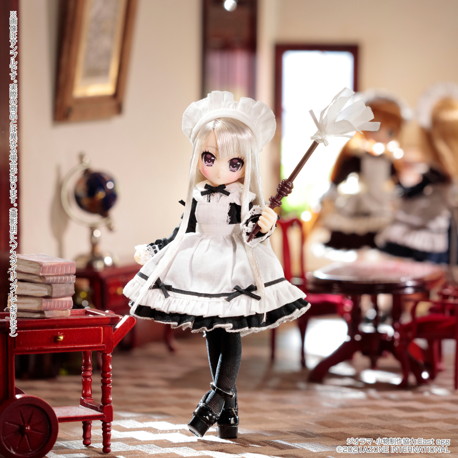 Lil'Fairy ~ちいさなお手伝いさん~『ヴェル 7th anniv.(ノーマル口ver.)』1/12 完成品ドール-011