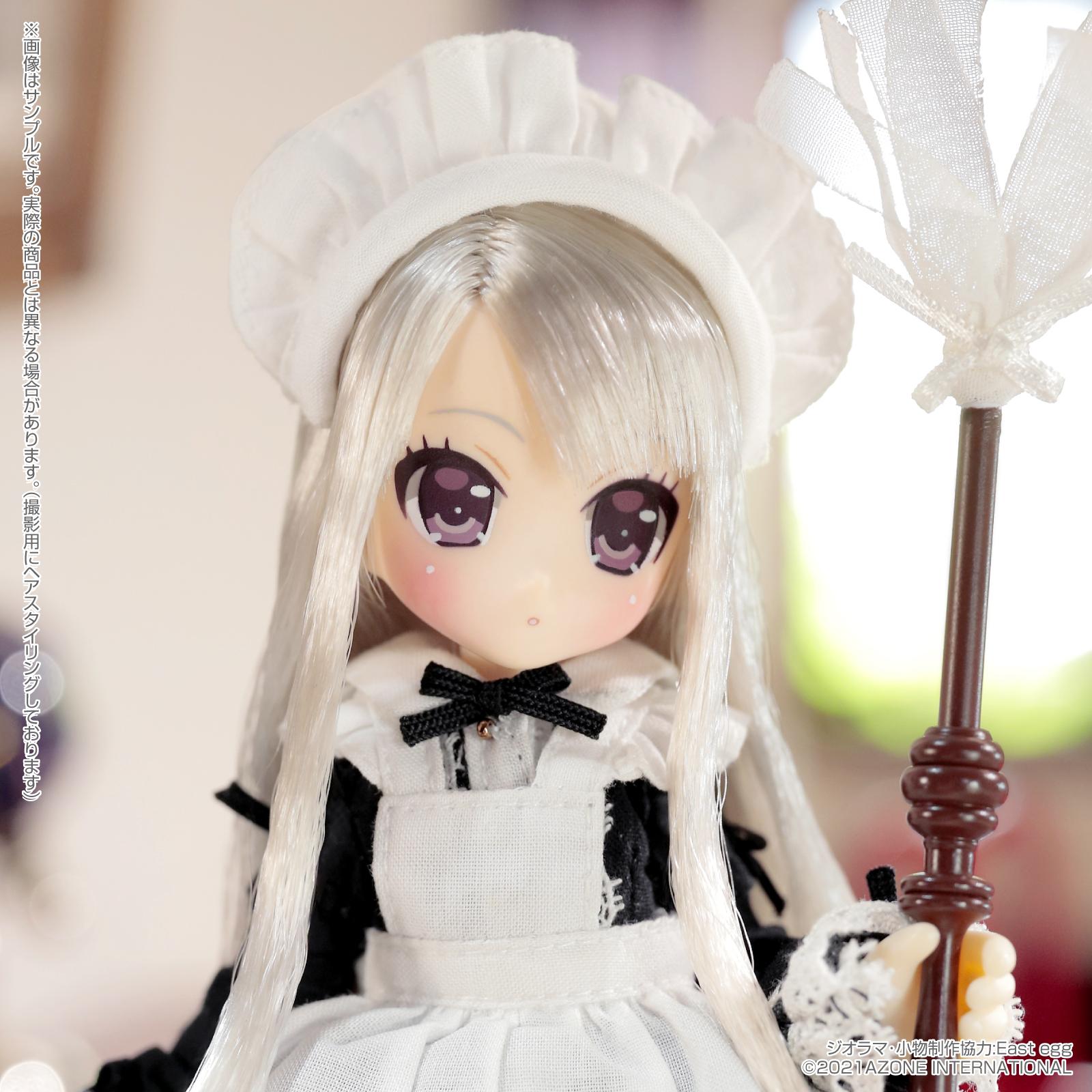 Lil'Fairy ~ちいさなお手伝いさん~『ヴェル 7th anniv.(ノーマル口ver.)』1/12 完成品ドール-013
