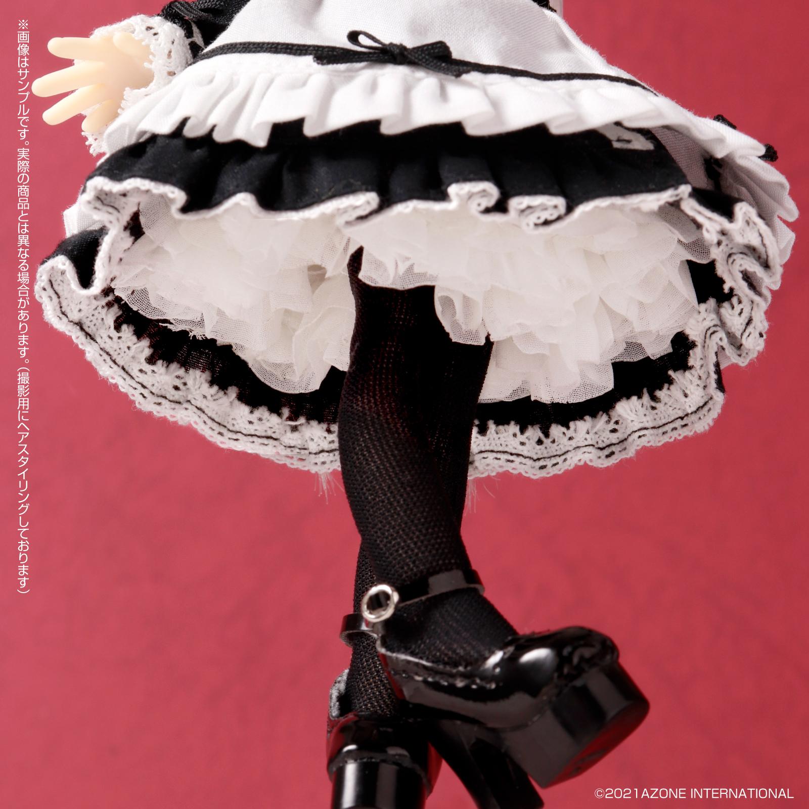 Lil'Fairy ~ちいさなお手伝いさん~『ヴェル 7th anniv.(ノーマル口ver.)』1/12 完成品ドール-016