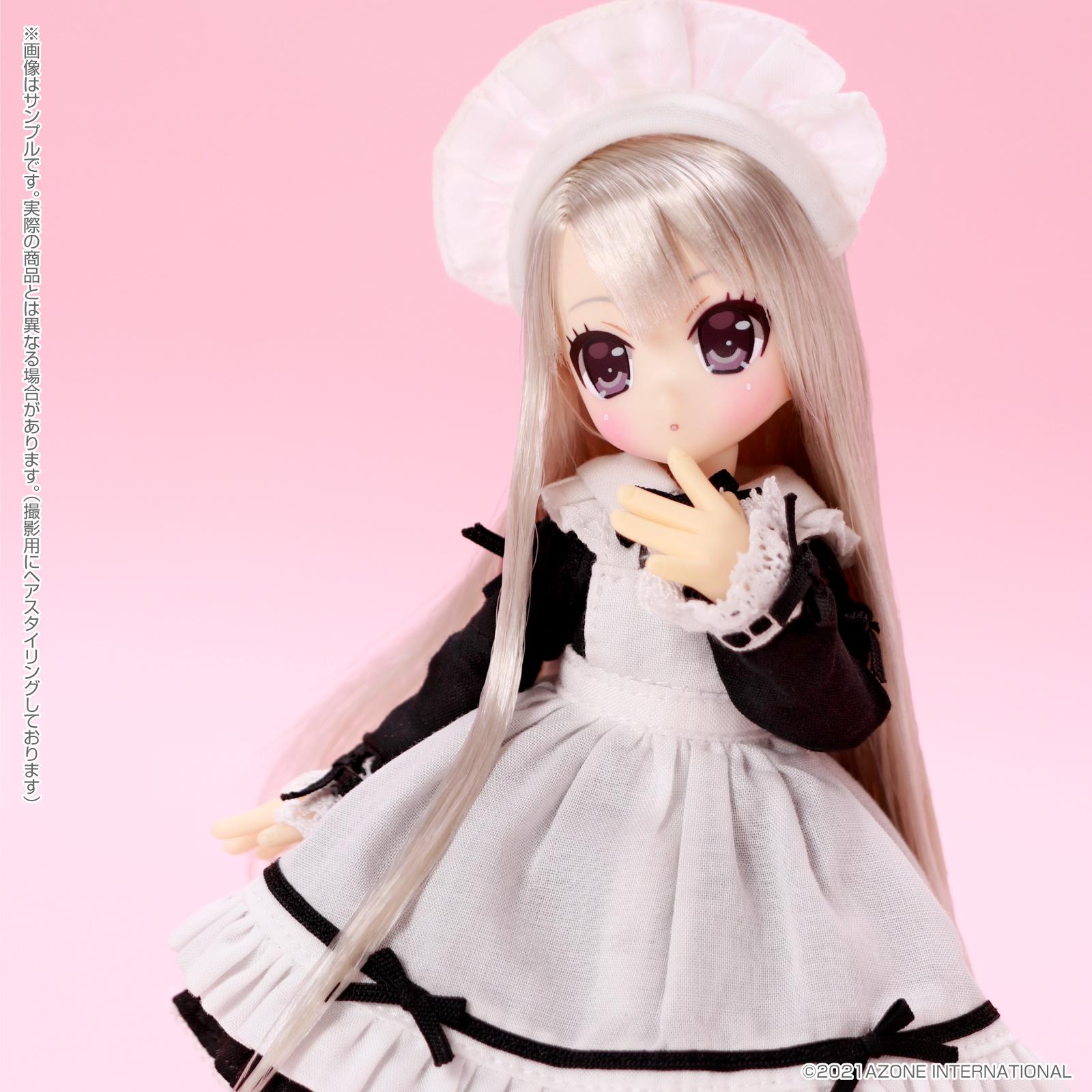 Lil'Fairy ~ちいさなお手伝いさん~『ヴェル 7th anniv.(ノーマル口ver.)』1/12 完成品ドール-022