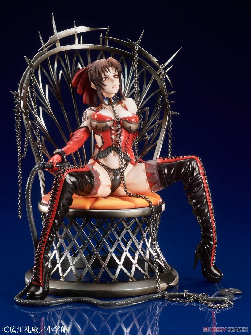BLACK LAGOON『20th Anniversary レヴィ 緋色の女王ver.』1/7 完成品フィギュア-005