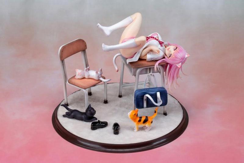 Aimeeリア オリジナルフィギュア『紺野』1/7 完成品フィギュア-001