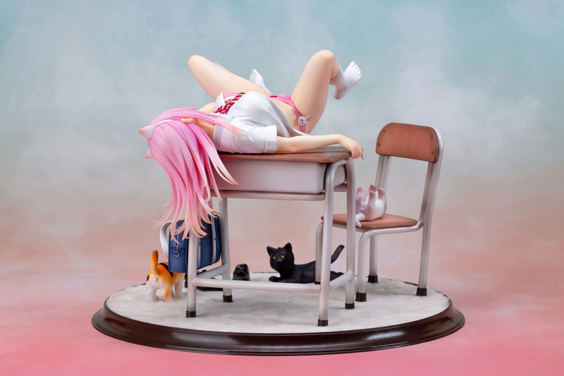 Aimeeリア オリジナルフィギュア『紺野』1/7 完成品フィギュア-007