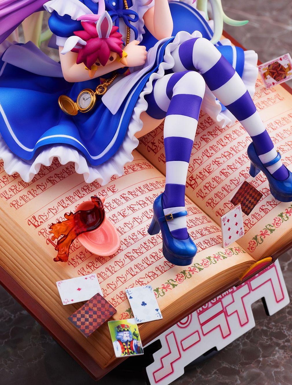 【限定販売】ノーゲーム・ノーライフ『白 -不思議の国のアリス Ver.-』1/7 完成品フィギュア-012
