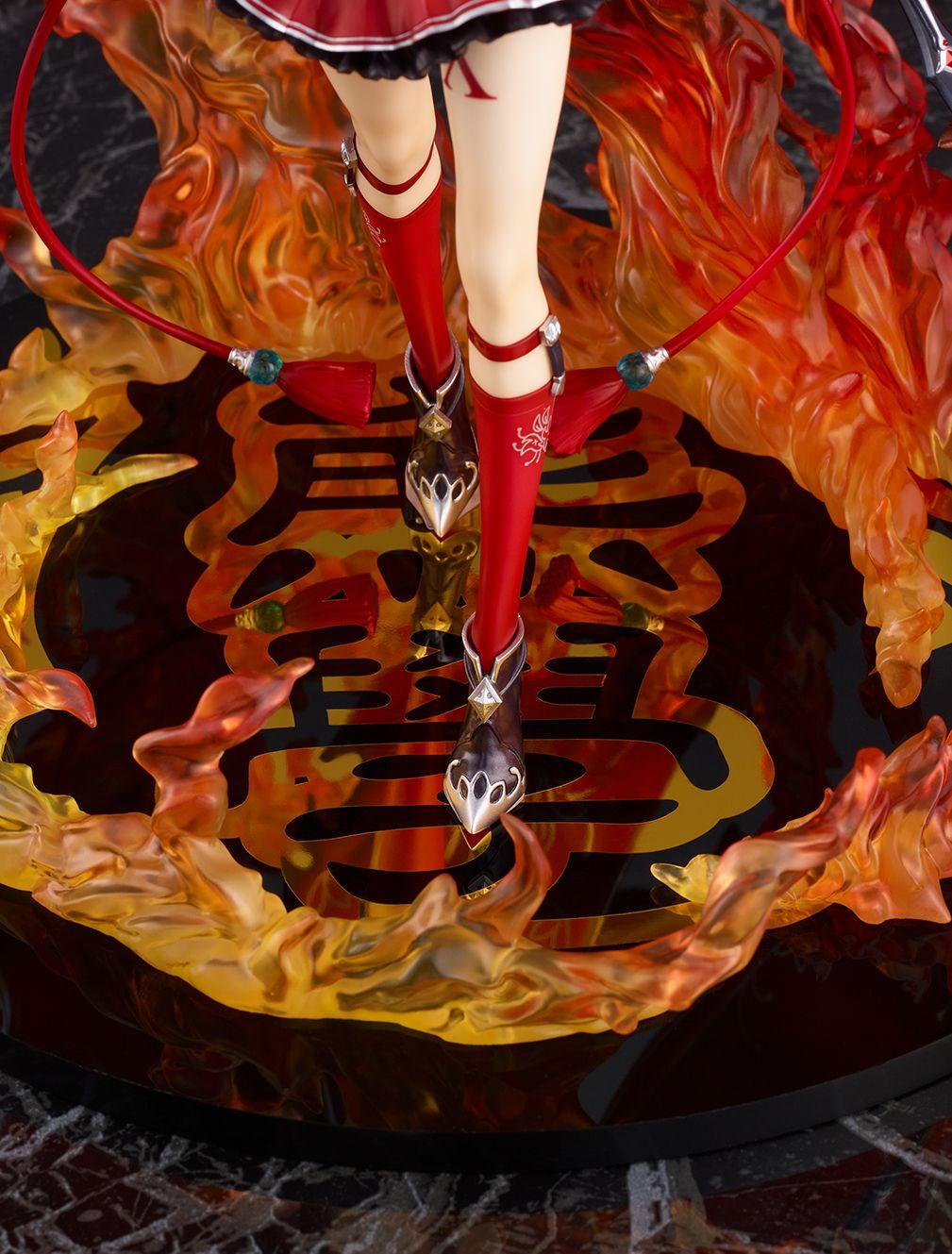 【限定販売】白猫プロジェクト『アイシャ・アージェント -私立茶熊学園2018 Ver.-』1/7 完成品フィギュア-011