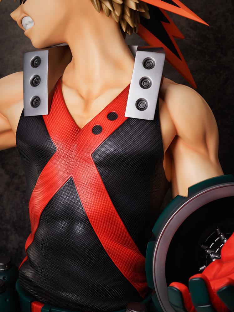 【限定販売】僕のヒーローアカデミア『爆豪勝己 胸像フィギュア』1/1 完成品フィギュア-004