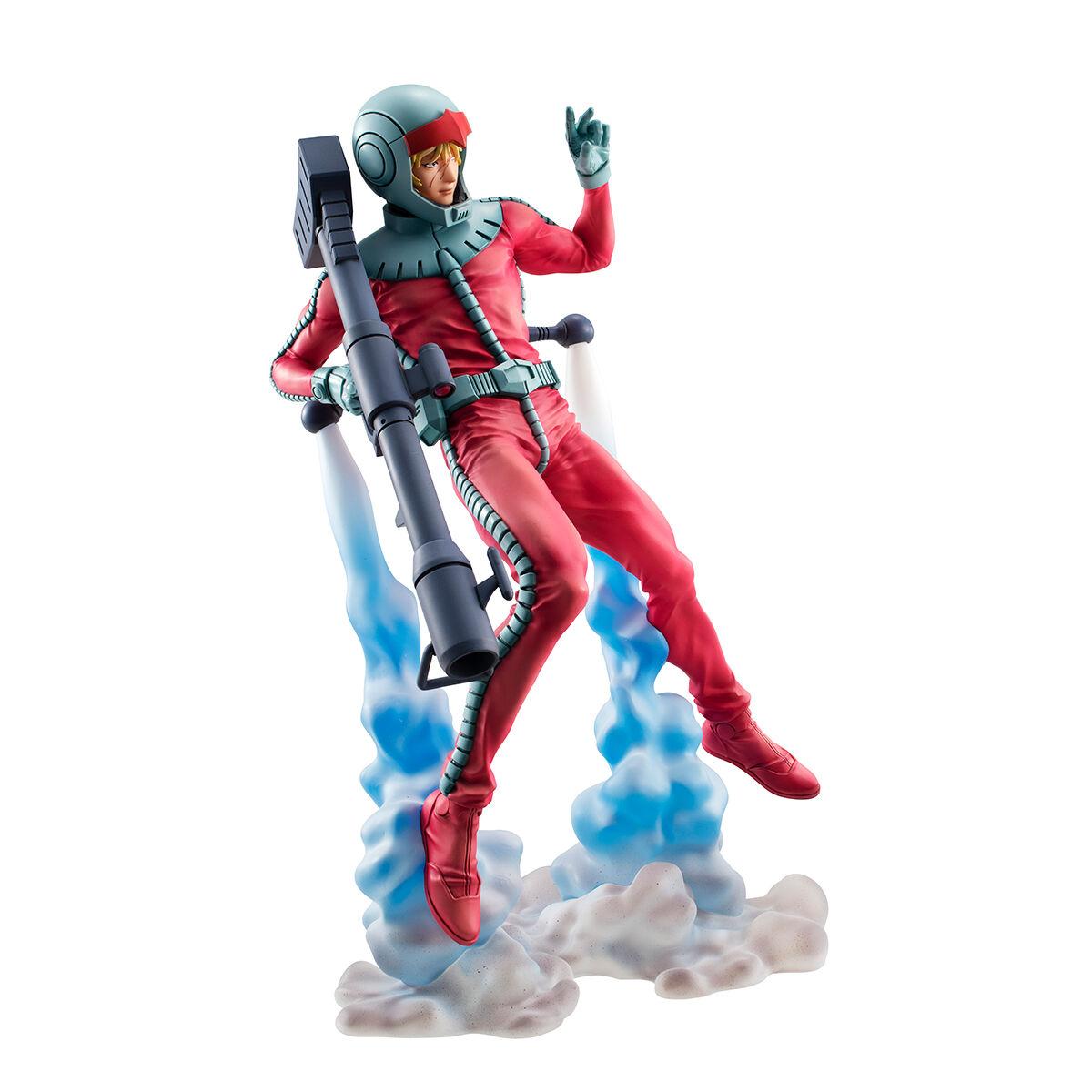 GGG『シャア・アズナブル ノーマルスーツVer.』機動戦士ガンダム 1/8 完成品フィギュア-005