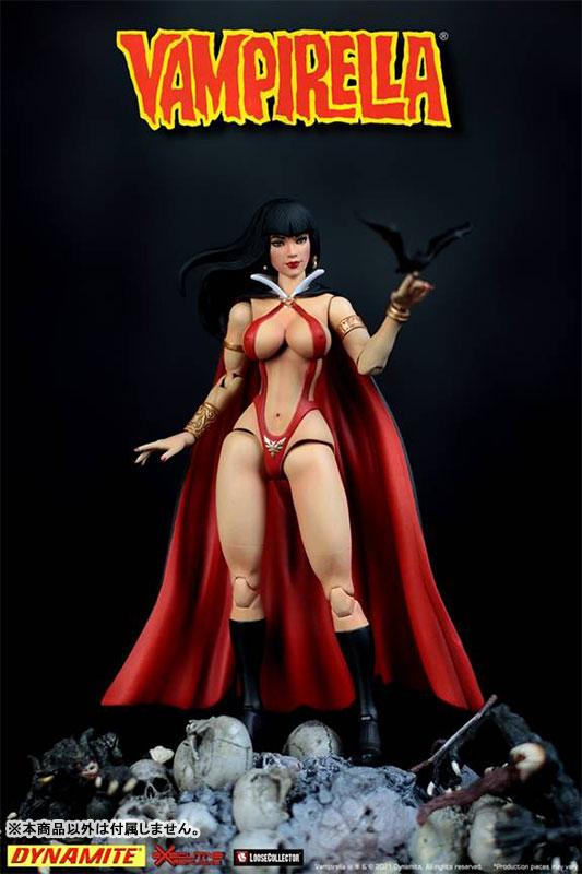Vampirella『ヴァンピレラ 』1/12 可動フィギュア-001