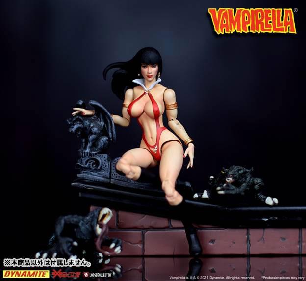 Vampirella『ヴァンピレラ 』1/12 可動フィギュア-002