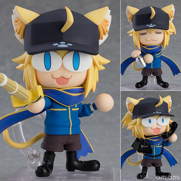 ねんどろいど『謎のネコX』Fate/Grand Carnival デフォルメ可動フィギュア