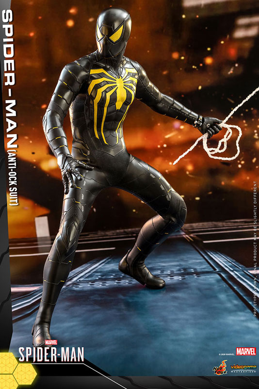 ビデオゲーム・マスターピース『スパイダーマン(アンチオック・スーツ版)』Marvel's Spider-Man 1/6 可動フィギュア-004