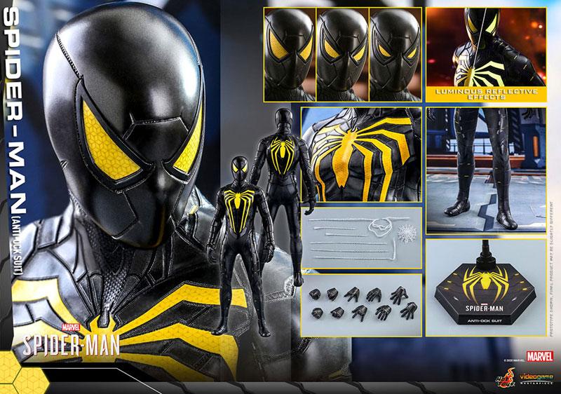 ビデオゲーム・マスターピース『スパイダーマン(アンチオック・スーツ版)』Marvel's Spider-Man 1/6 可動フィギュア-012