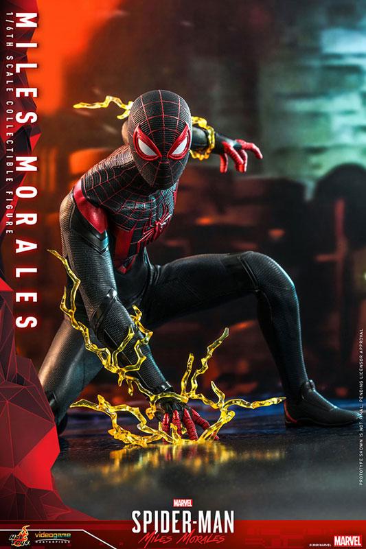 ビデオゲーム・マスターピース『マイルス・モラレス/スパイダーマン』Marvel's Spider-Man 1/6 可動フィギュア-003