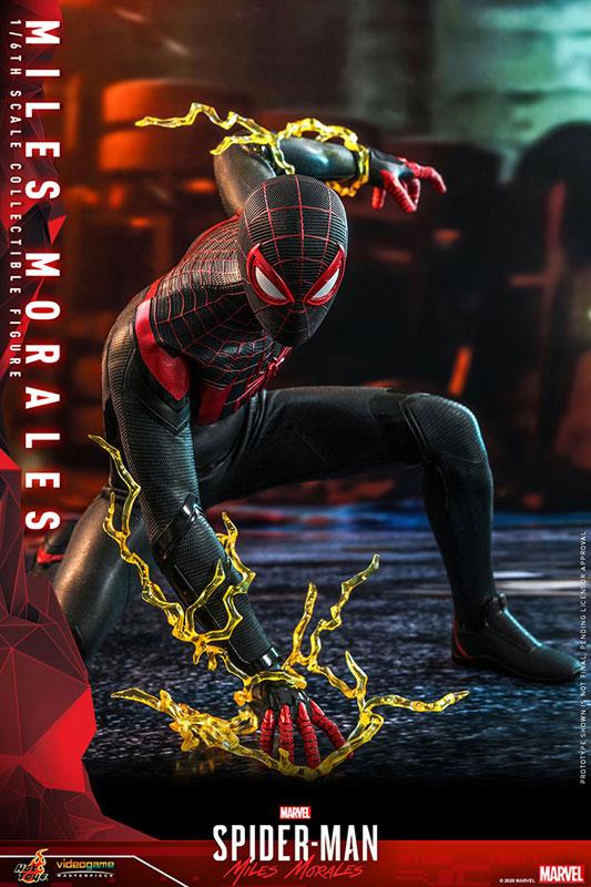 ビデオゲーム・マスターピース『マイルス・モラレス/スパイダーマン』Marvel's Spider-Man 1/6 可動フィギュア-004