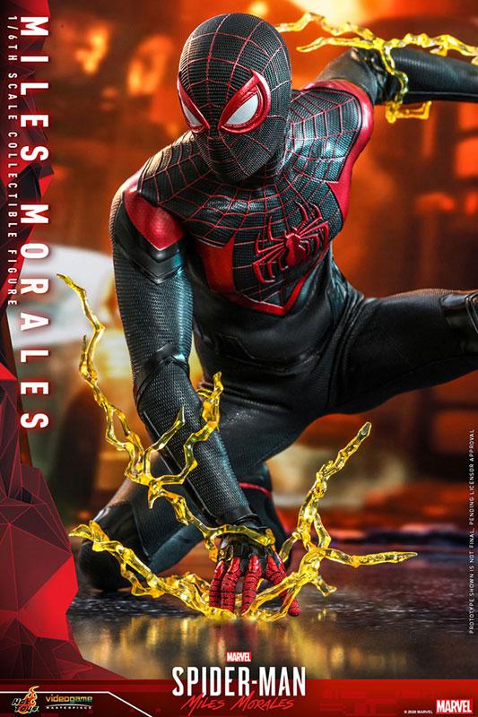 ビデオゲーム・マスターピース『マイルス・モラレス/スパイダーマン』Marvel's Spider-Man 1/6 可動フィギュア-006