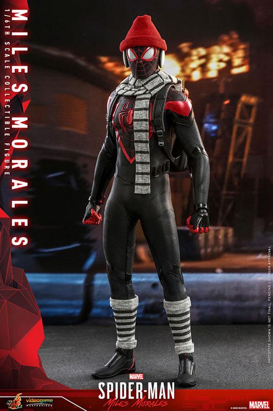 ビデオゲーム・マスターピース『マイルス・モラレス/スパイダーマン』Marvel's Spider-Man 1/6 可動フィギュア-008