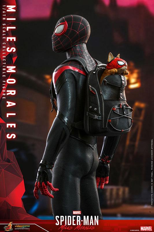 ビデオゲーム・マスターピース『マイルス・モラレス/スパイダーマン』Marvel's Spider-Man 1/6 可動フィギュア-009