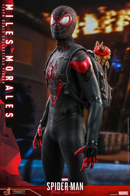 ビデオゲーム・マスターピース『マイルス・モラレス/スパイダーマン』Marvel's Spider-Man 1/6 可動フィギュア-010