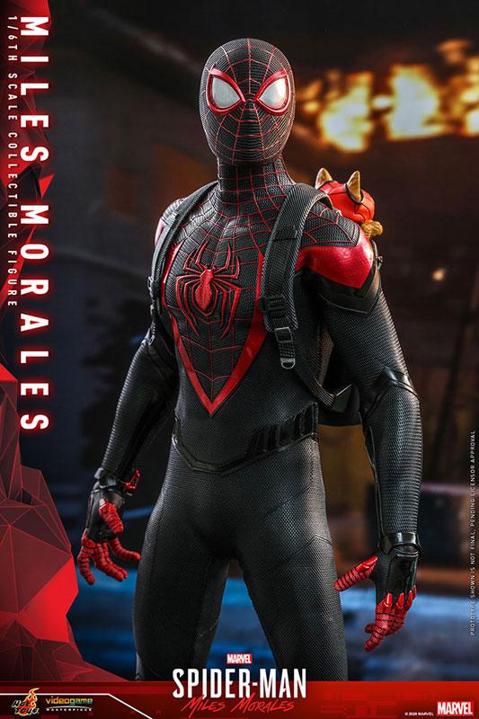 ビデオゲーム・マスターピース『マイルス・モラレス/スパイダーマン』Marvel's Spider-Man 1/6 可動フィギュア-011