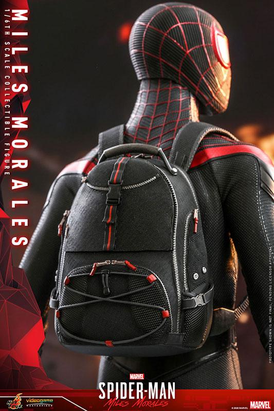 ビデオゲーム・マスターピース『マイルス・モラレス/スパイダーマン』Marvel's Spider-Man 1/6 可動フィギュア-012