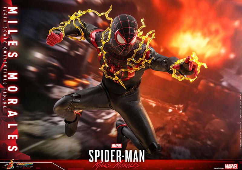 ビデオゲーム・マスターピース『マイルス・モラレス/スパイダーマン』Marvel's Spider-Man 1/6 可動フィギュア-014