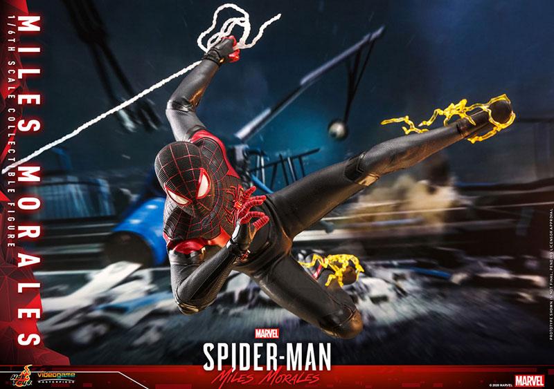 ビデオゲーム・マスターピース『マイルス・モラレス/スパイダーマン』Marvel's Spider-Man 1/6 可動フィギュア-015