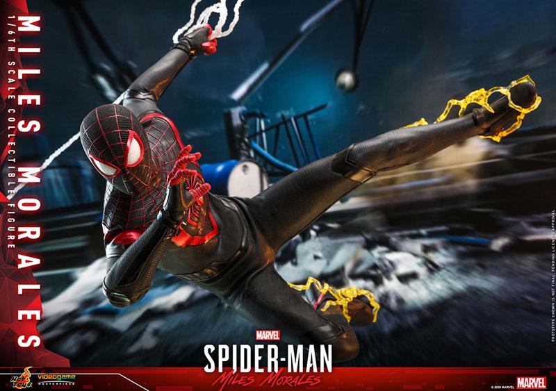 ビデオゲーム・マスターピース『マイルス・モラレス/スパイダーマン』Marvel's Spider-Man 1/6 可動フィギュア-016