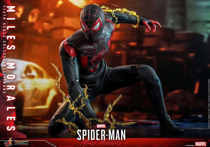 ビデオゲーム・マスターピース『マイルス・モラレス/スパイダーマン』Marvel's Spider-Man 1/6 可動フィギュア-017