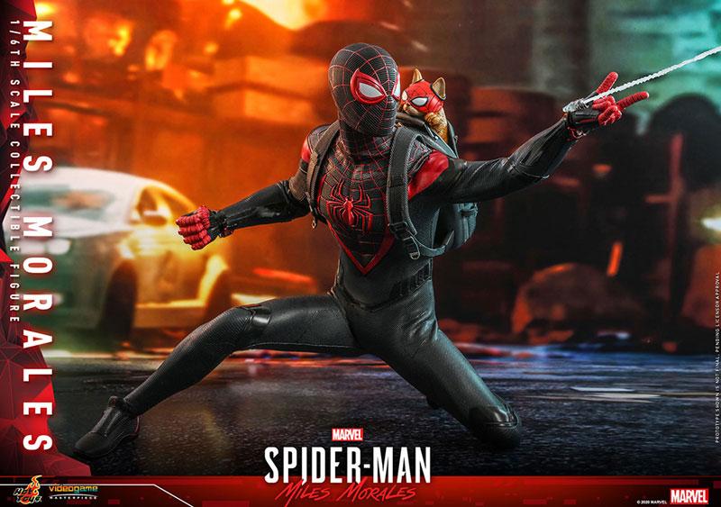 ビデオゲーム・マスターピース『マイルス・モラレス/スパイダーマン』Marvel's Spider-Man 1/6 可動フィギュア-019