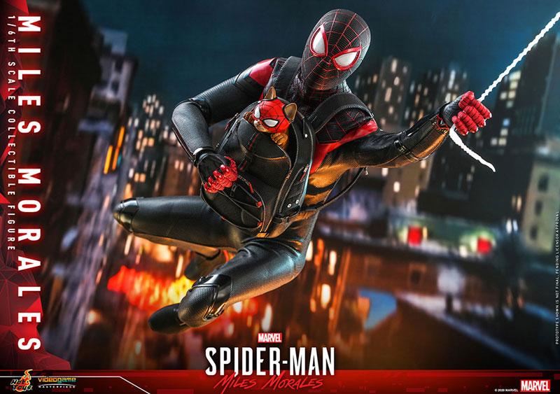 ビデオゲーム・マスターピース『マイルス・モラレス/スパイダーマン』Marvel's Spider-Man 1/6 可動フィギュア-021