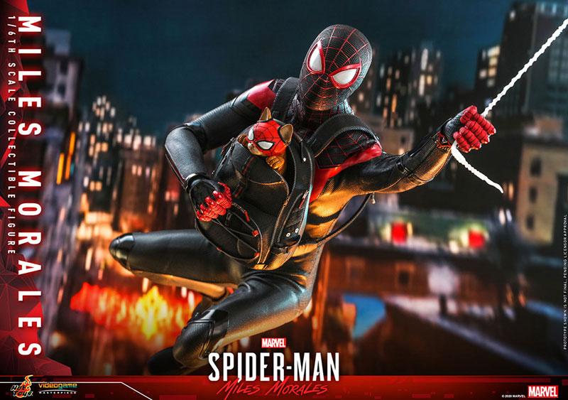 ビデオゲーム・マスターピース『マイルス・モラレス/スパイダーマン』Marvel's Spider-Man 1/6 可動フィギュア-022